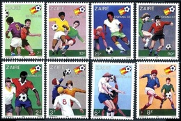 1981Zaire(Congo (Kinshasa)722-7291982 World Championship On Football Of Spanien13,00 € - Copa Mundial