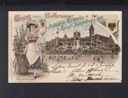 Württemberg Bild-PK 1897 Ausstellung Heilbronn 1897 - Wuerttemberg