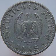 Germany 50 Reichspfennig 1935 F F - [ 4] 1933-1945 : Third Reich