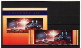 SRO207 UNO NEW YORK 1999 MICHL 819/20 + BLOCK 16 Postfrisch Siehe ABBILDUNG - New York -  VN Hauptquartier
