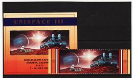 SRO209 UNO NEW YORK 1999 MICHL 819/20 + BLOCK 16 A Postfrisch Siehe ABBILDUNG - Ungebraucht