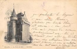 Bruxelles - La Porte De Hall / 1899 !! - Monumenti, Edifici