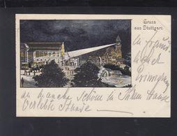 Württemberg Bild-PK Stuttgart 1896 Nach Ludwigsburg - Wuerttemberg