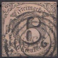"MiNr. 9, Vollrandig, Klar ""259"", Pößneck - Thurn Und Taxis"