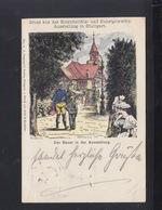 Württemberg Bild-PK Stuttgart Ausstellung Für Elektrotechnik 1896 Nach Ludwigsburg(2) - Wuerttemberg