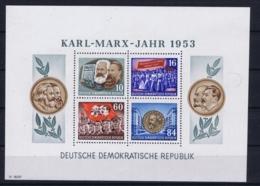 DDR Mi 9 Y I  Postfrisch/neuf Sans Charniere /MNH/** 1953  Hair On Plastic Not On Block - Blocks & Kleinbögen
