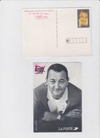 FRANCE 1 Entier Postal Carte Coluche N°YT 2902-CP1 1994 - Les Restaurants Du Coeur - Postwaardestukken