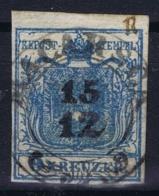 Austria: Mi 5 Cancel Macarsca / Makarska Dalmatiën - 1850-1918 Imperium