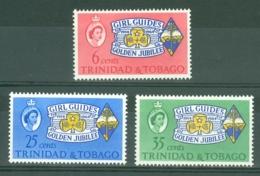 Trinidad & Tobago: 1964   Golden Jubilee Of Girl Guides Association     MH - Trinidad & Tobago (1962-...)