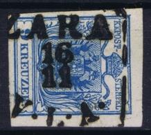 Austria: Mi 54 Cancel Zara Zadar Kroatien - 1850-1918 Impero