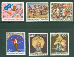 Trinidad & Tobago: 1968   Trinidad Carnival    MNH - Trinidad & Tobago (1962-...)