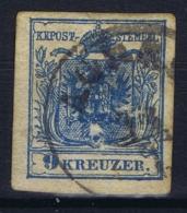 Austria: Mi 5 Cancel Agram - 1850-1918 Impero