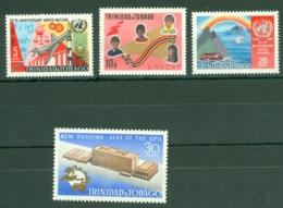 Trinidad & Tobago: 1970   25th Anniv Of U.N.  MH - Trinidad & Tobago (1962-...)