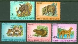 Trinidad & Tobago: 1971   Trinidad Wildlife   MH - Trinidad & Tobago (1962-...)
