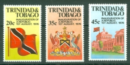 Trinidad & Tobago: 1977   Inauguration Of The Republic     MNH - Trinidad & Tobago (1962-...)