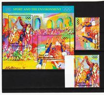 SRO254 UNO NEW YORK 1996 MICHL 716/17 + BLOCK 13 ** Postfrisch SIEHE ABBILDUNG - Ungebraucht
