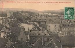 27 Vernon Ce Qu' On Voit Du Clocher De Notre Dame Vue Sur La Tour Des Archives Et Maisons Environnantes - Vernon