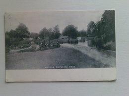 1901 - 1910 Black & White  Postcard -  Maldon,  Beeleigh  Weir - England