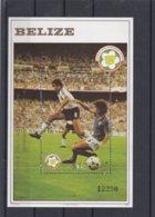 Belize 1982 World Cup Spain   Souvenir Sheet MNH/** (H51) - 1982 – Espagne
