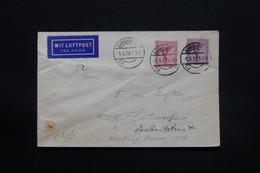 ALLEMAGNE - Enveloppe De Hamburg En 1929 Par Avion Pour Anvers, Affranchissement Plaisant - L 28230 - Storia Postale