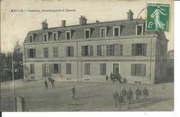 Melle-Caserne,Gendarmerie à Cheval - Melle