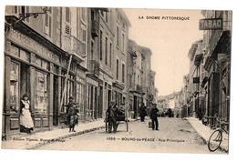 BOURG DE PEAGE RUE PRICIPALE COMMERCES TRES ANIMEE - France