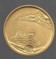 Sam - Coffret Médaille En Bronze Metropolitan Police Tokyo Japan 157 Gr Et De 60 Mm De Diamètre - Unique Sur Delcampe - Tokens & Medals