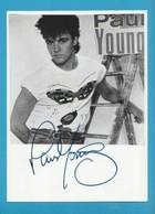 PAUL YOUNG  Original En Personne Signé Brillant PHOTO 13x18 Cm, 5 X 7 Inch  AUTOGRAPHE - Autographes