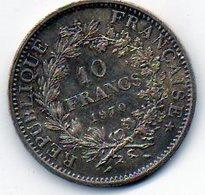 Sam - Piéce , Monnaie , France , 10 Francs HERCULE , 1970, Argent , Silver - K. 10 Francs