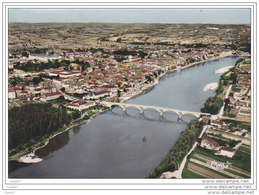 Cpsm Réf-JP-N-142 (  Dép-47 )     Le Pont Sur La Garonne   De TONNEINS - Tonneins