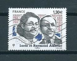 2018 France 1,30 EURO Lucie Et Raymond Aubrac Used/gebruikt/oblitere - Frankrijk