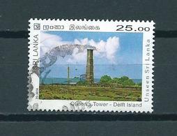 2016 Sri Lanka Queen's Tower,Delft Island 25.00 Used/gebruikt/oblitere - Sri Lanka (Ceylon) (1948-...)