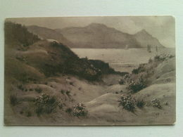 1913 Black And White   Postcard -  Sand Dunes, Conway - Wales