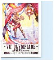Sport - Jeux Olympiques - VII è Olympiade - ANVERS Belgique  - Publicité Mars Au Dos - Olympic Games