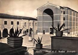 """M08048 """"APRILIA-CHIESA DI S. MICHELE ARCANGELO""""ARCHITETTURA DEL '900-CARTOLINA POSTALE ORIGINALE SPEDITA 1957 - Aprilia"""