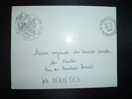 LETTRE MAIRIE FONTAINE LE PIN OBL. Tiretée 24-10 1966 14 ST GERMAIN LE VASSON CALVADOS - Marcophilie (Lettres)