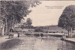 71-ÉCLUSE N°12 DU CANAL DU CENTRE ENTRE PANAY ET LA GRAVOINE-ANIMÉE - Francia