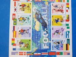 CUBA BLOC NEUF 2002 FOOT - Blocs-feuillets
