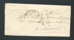 LAC , Lettre Oblitéré Cad Mamers   Mars 1839 -  Raa2309 - 1801-1848: Précurseurs XIX
