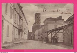 CPA (Ref: Z 1282) BUZET-SUR-TARN (31 HAUTE GARONNE) Rue De L'Église - France