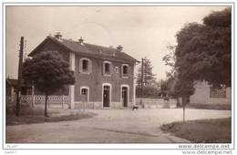( Dep 77 )  à    ST-FARGEAU-VILLERS   La Gare                            Ref B.801 - France