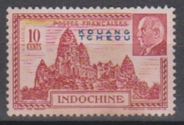 KOUANG-TCHEOU - Timbre N°138 Neuf Sans Gomme - Unused Stamps