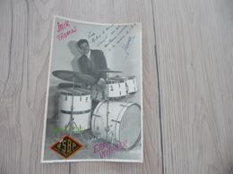 Musique Photo Pub Autographe Jack Thomas Batterie Pub Asba Orchestre Warner 11.2 X 17.6 - Autographs