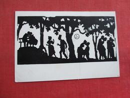 Silhouette   Romance      Ref 3316 - Scherenschnitt - Silhouette