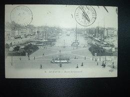 CP LE HAVRE BASSIN DU COMMERCE OBL.1-6 14 VILLERVILLE SEMAPHORE CALVADOS (14) - 1877-1920: Semi Modern Period