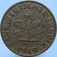 Germany 10 Pfennig 1949 G VF - 10 Pfennig