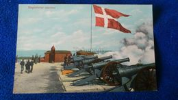 Flagbatteriet Saluterer Denmark - Danimarca