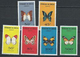 Sénégal YT 226-231 X / MH Papillon Buttefly Animal Wildlife - Sénégal (1960-...)
