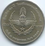 Thailand - Bhumibol - BE2546 (2003) - 50 Baht - Thai Air Force - KMY404 - ๒๕๔๖ - Thailand