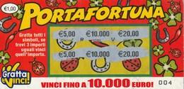 GRATTA E VINCI - PORTAFORTUNA - Biglietti Della Lotteria